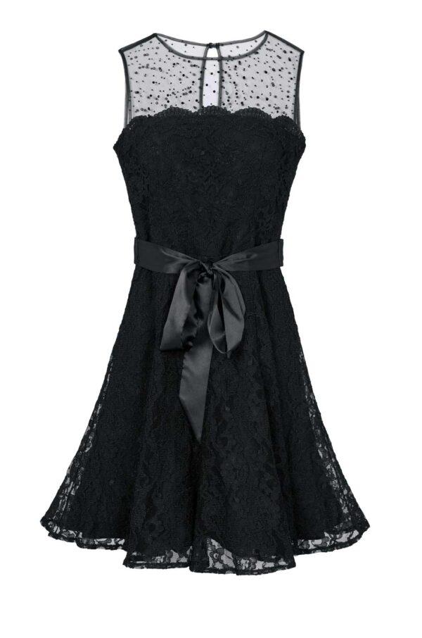 Ashley Brooke Abendkleid kurz, schwarz 726.218 Missforty.de