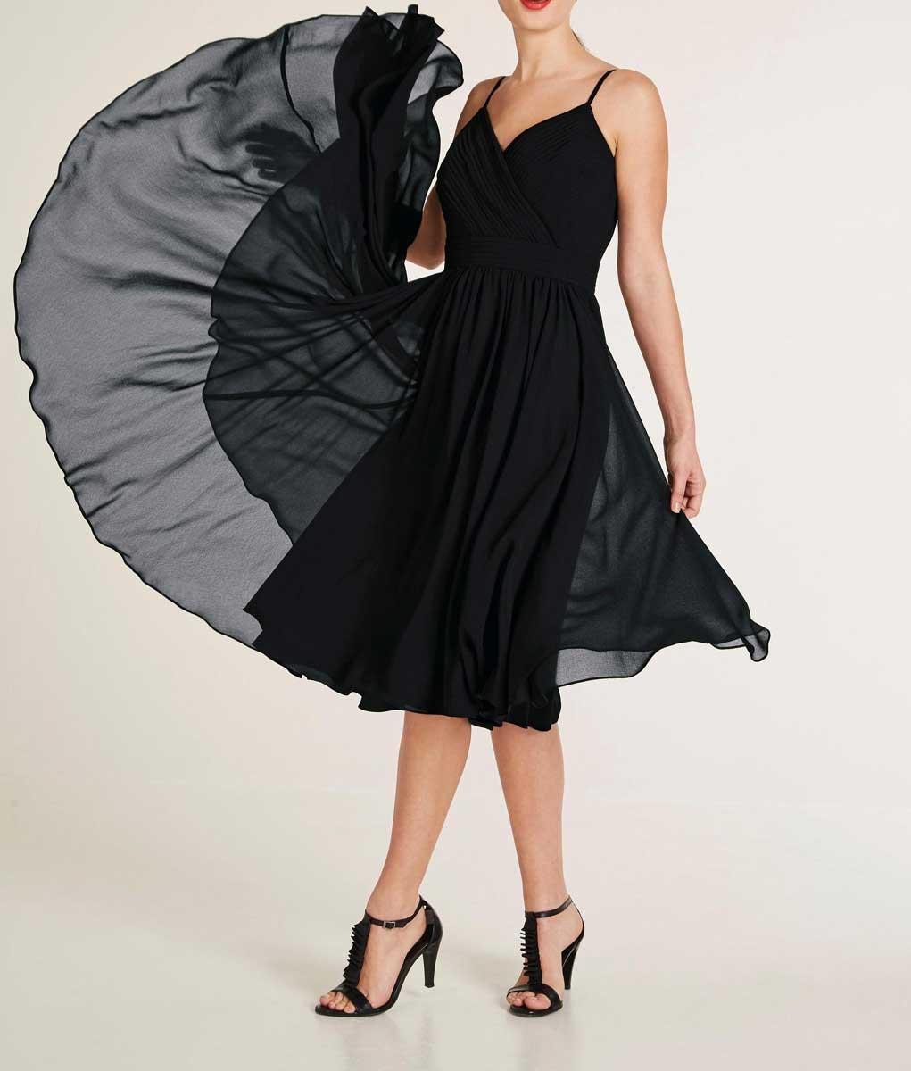 Ashley Brooke Abendkleid kurz, schwarz 770.685 Missforty.de