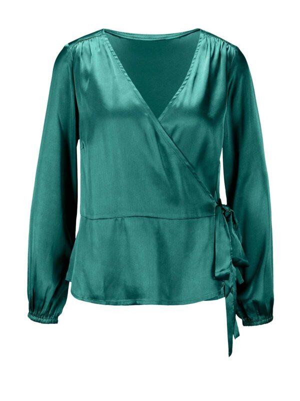 Création L Bluse, smaragdgrün 775.394 Missforty