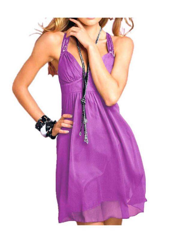 Lipsy Abendkleid kurz, lila 779.210 Missforty.de