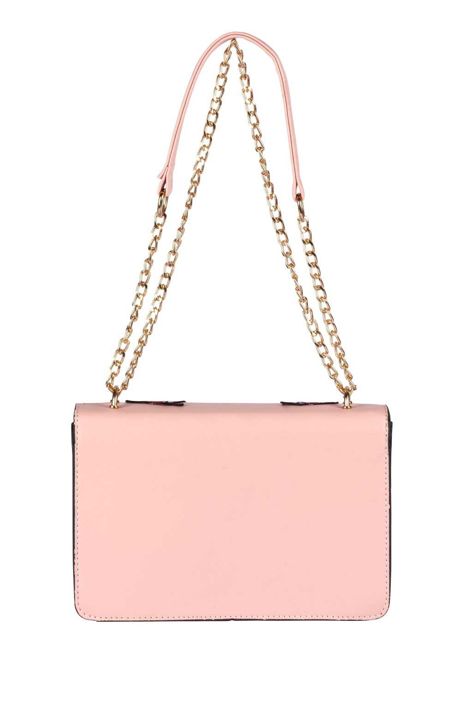 Sweet Deluxe Handtasche m. Patches, rosé Missforty.de
