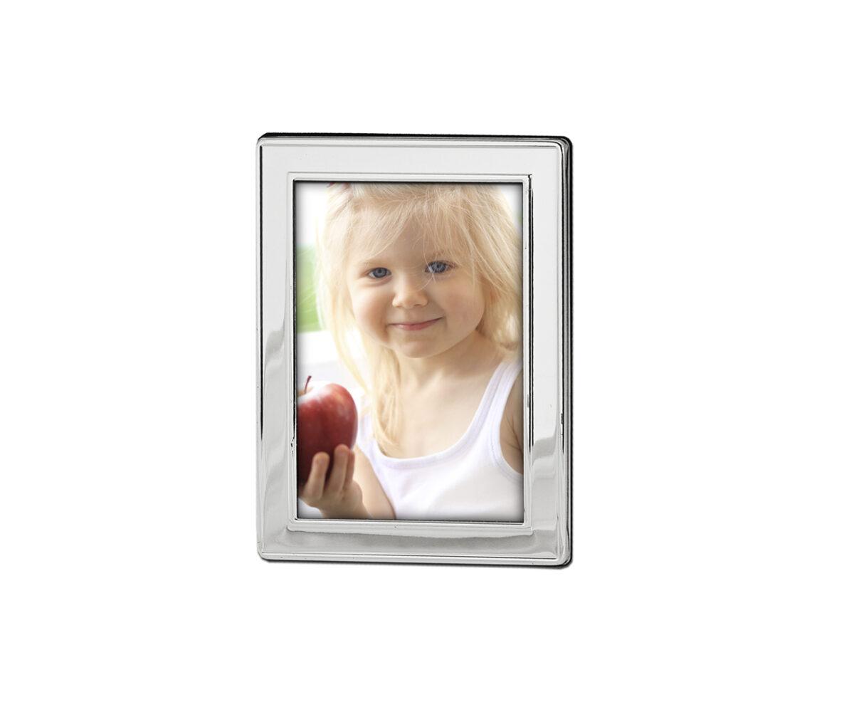 4796 Fotorahmen Bilderrahmen Nardo für Foto 9 x 13 cm, edel versilbert, anlaufgeschützt