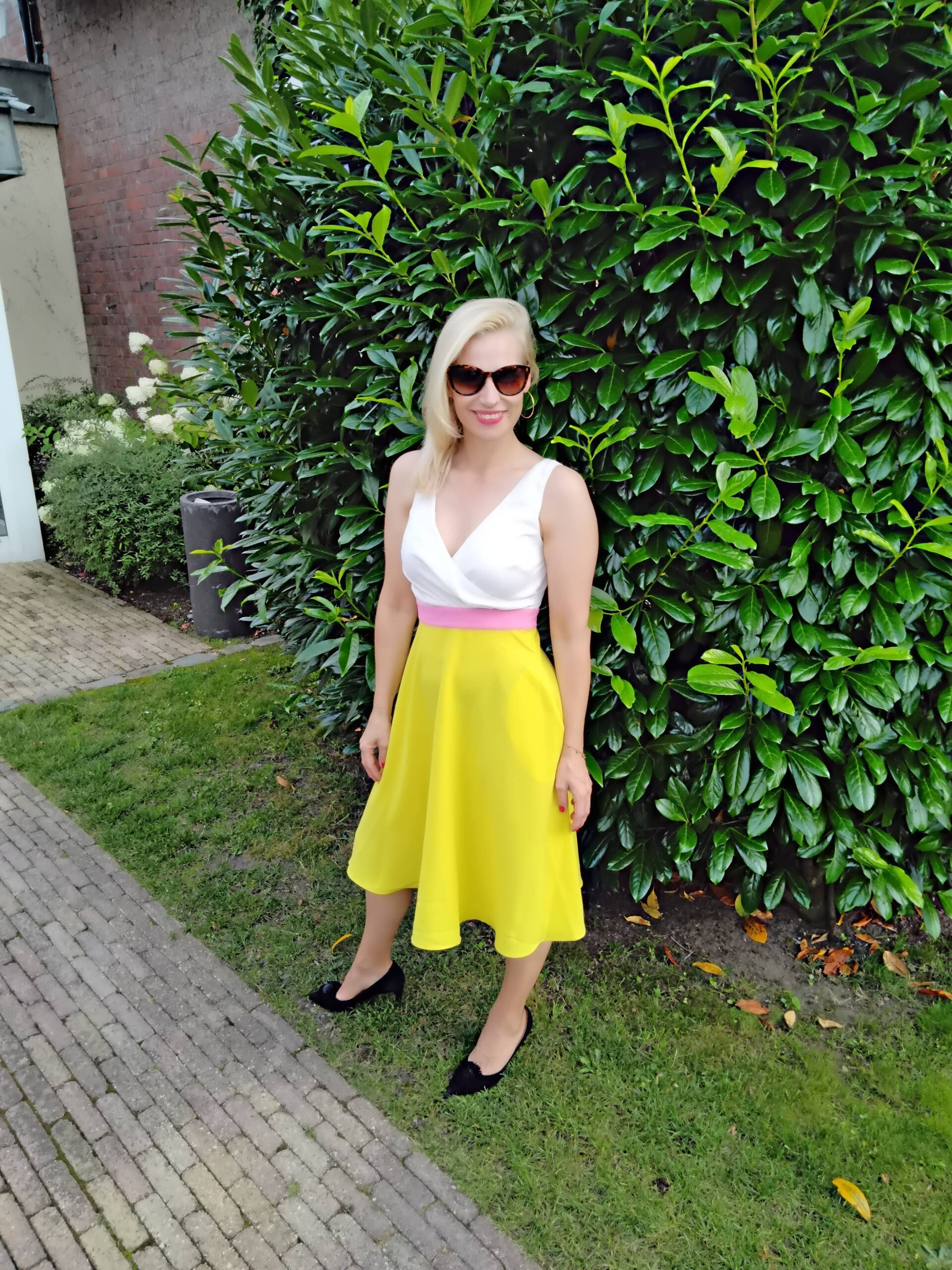 gelbes Sommerkleid Carolin Handschuh Lindhorst Missforty Online Shop