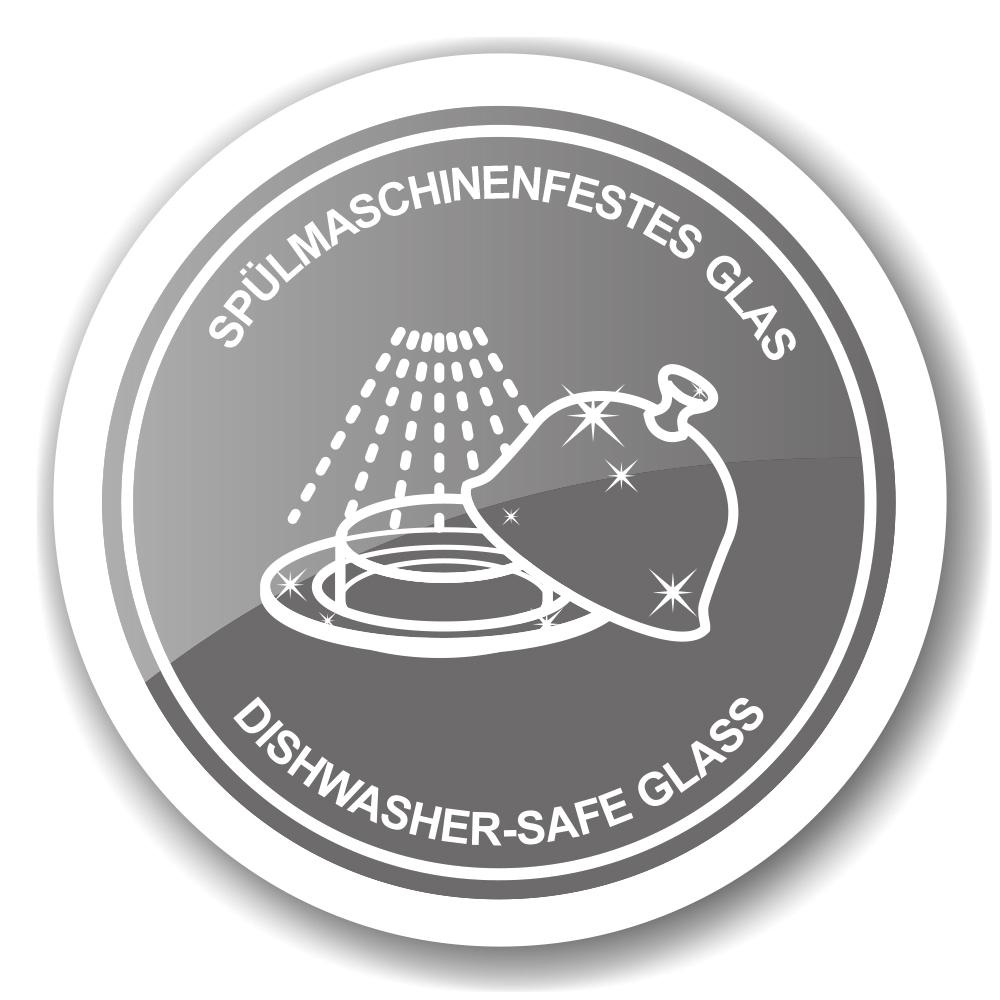 1369 Marmeladenglas Löwe mit Untersetzer und Löffel, edel versilbert, Höhe 12 cm, ř 14 cm, ř Glas 10