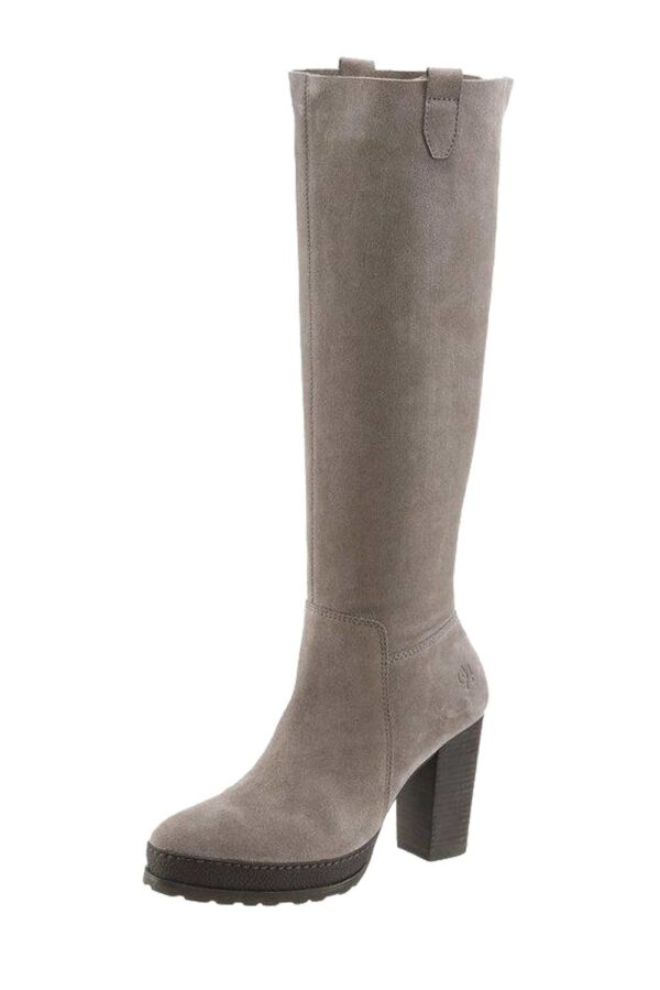 Marc O´Polo Stiefel Veloursleder taupe 253.039 Missforty