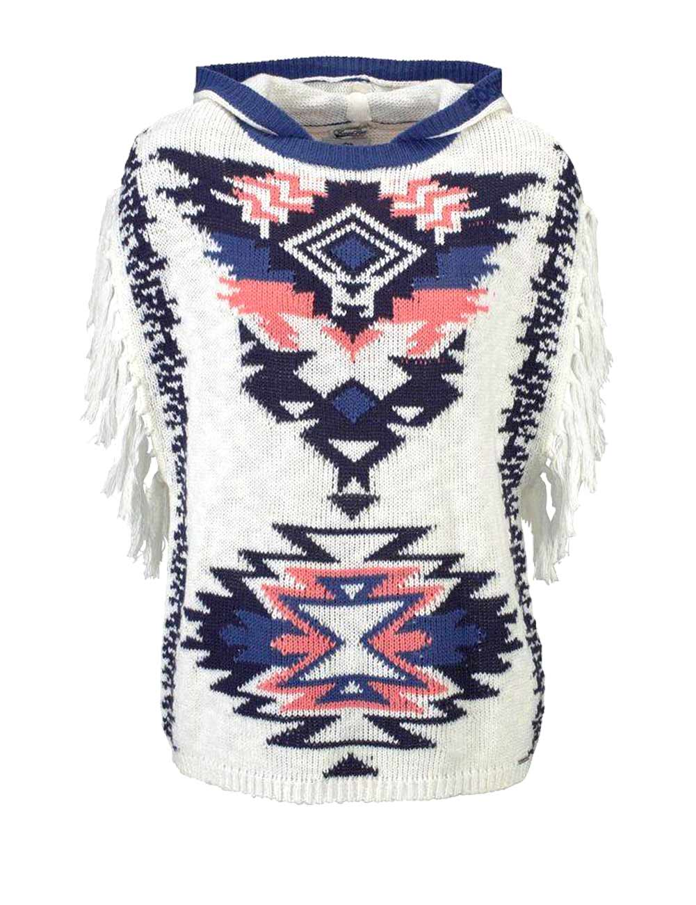KangaROOS Poncho Pullover offwhite 407.861 Missforty