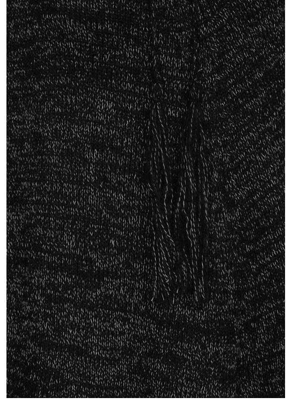 AJC Poncho aus Strick schwarz-melange 568.911 Missforty