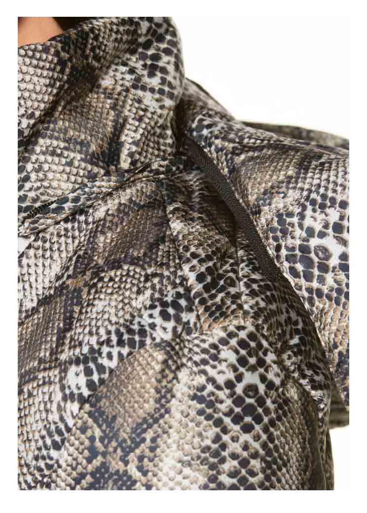 MELROSE Damen Snakeprint-Steppjacke #missforty#