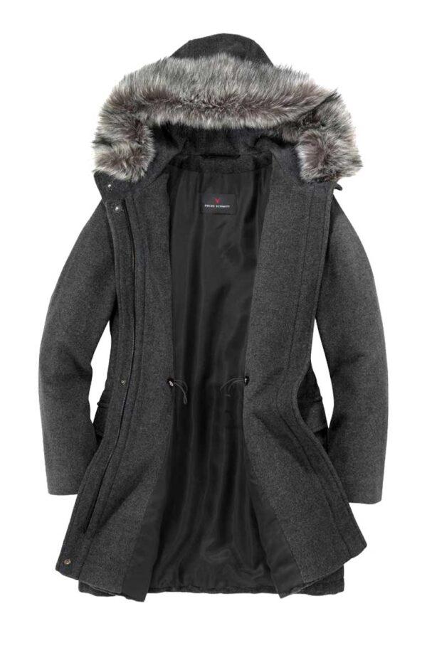 Damenmäntel Frühjahr 2021 Fuchs Schmitt Damen Designer-Wollmantel mit Kaschmir 721.604 Missforty