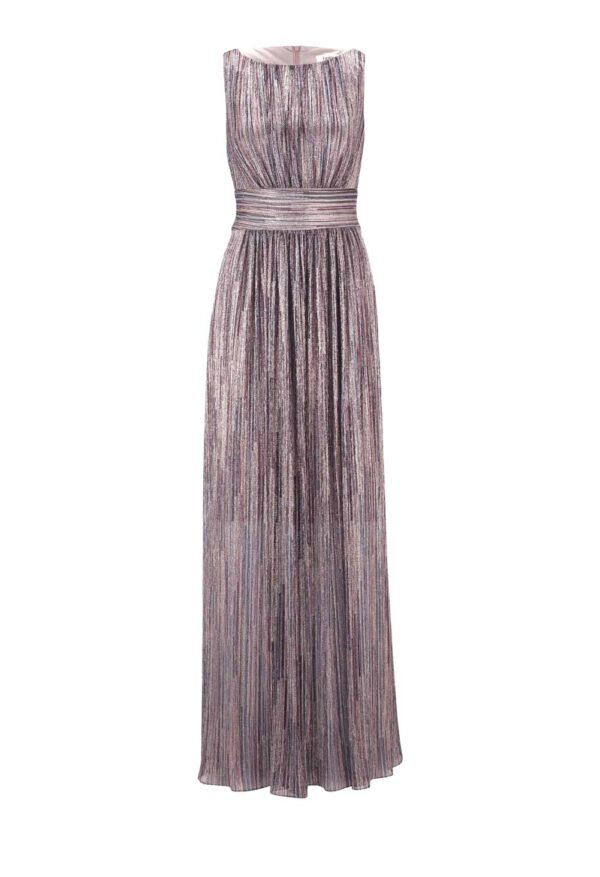abendkleider in übergrößen HEINE Abendkleid lang , bunt-metallic 844.173 Missforty