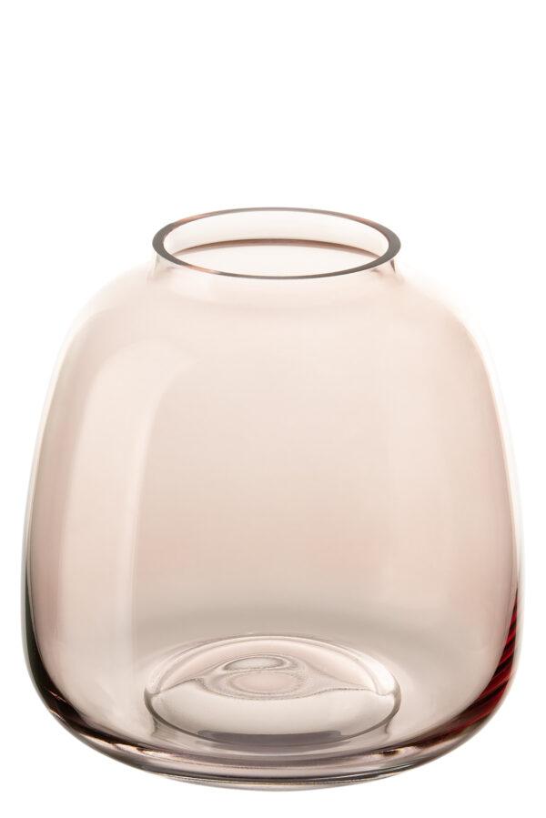 000000012435 Vase Glas Glasvase Fink SUNDAY Dekovase Tischdeko rose Höhe 11 / 15,5 / 19 cm