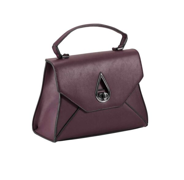 HEINE Damen Handtasche Tasche bordeaux Missforty.de