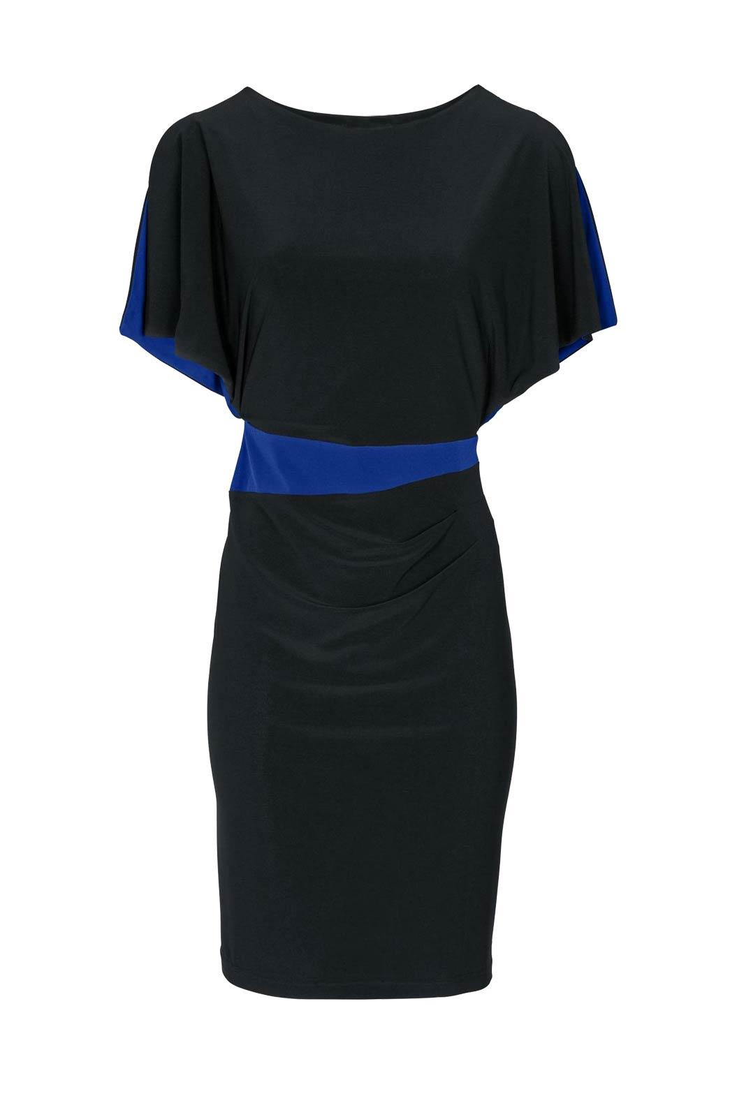 Etuikleid EtuikleiderschöneKleider Damenknielnag schwarz royalblau von Heine Missforty